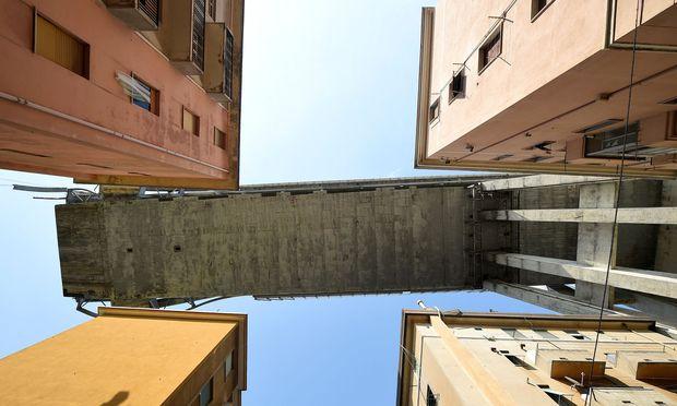 Die Reste der am 14. August eingestürzten Morandi-Brücke sollen ab Ende September abgerissen werden