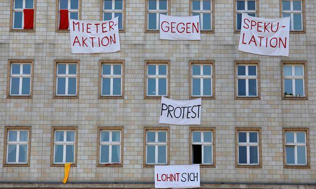 Mieterprotest in Berlin: Die Marktwirtschaft gerät durch Exzesse in Misskredit, eine Korrektur ist dringend nötig.