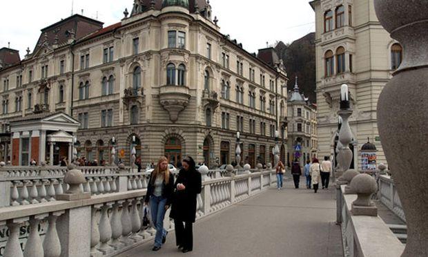 Ljubljana aufgewacht