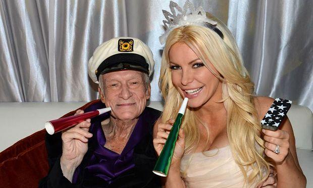 Playboy Hefner hat mit 86 noch einmal geheiratet