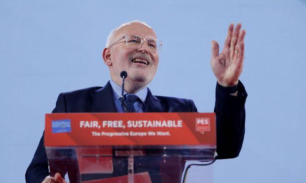 Timmermans soll Sozialdemokraten in die Europawahl führen — EU