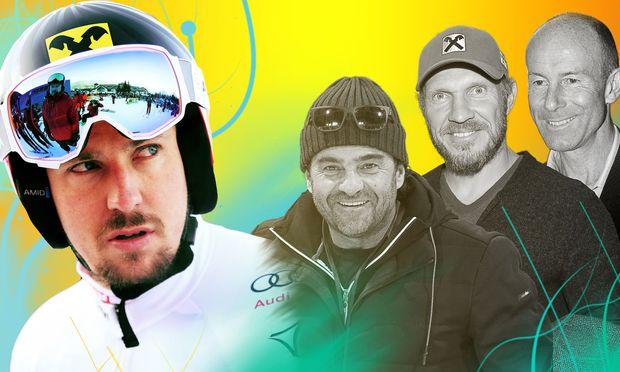 ALPINE SKIING - Overall winners men