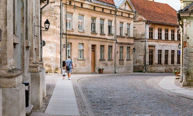 Die Kleinstadt Kuldiga ist dank der gut erhaltenen Altstadt ein beliebter Drehort für Filmteams.