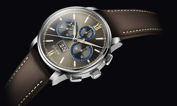 """Senator Chronograph  – The Capital Edition"" in einer limitierten Stahlvariante."