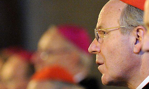 Archivbild: Schönborn bei der Herbst-Vollversammlung der Österreichischen Bischofskonfernz im November 2010.