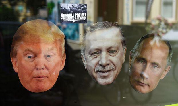 Linker Protest während des G20-Gipfels