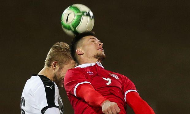SOCCER - UEFA U21 EURO 2019 quali, AUT vs SRB