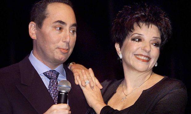 David Gest und Liza Minelli im Jahr 2002.