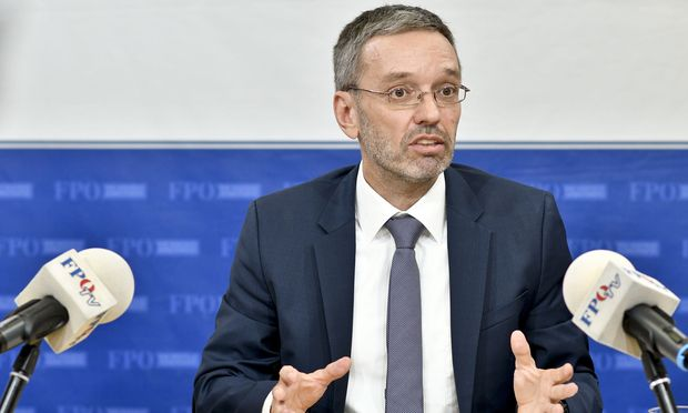 Ex-Innenminister Herbert Kickl