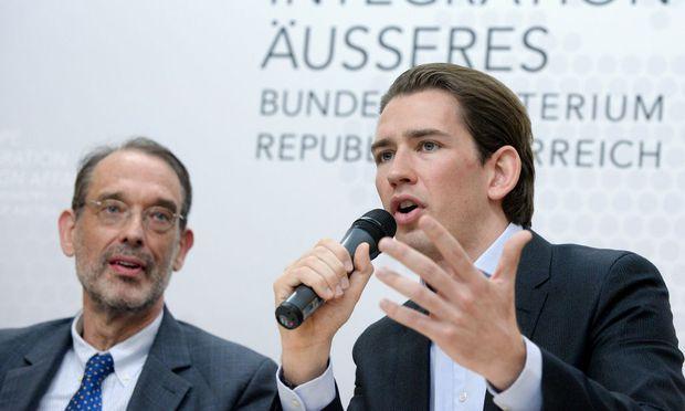 Fassmann und Kurz legen am Dienstag Integrationsbericht vor.