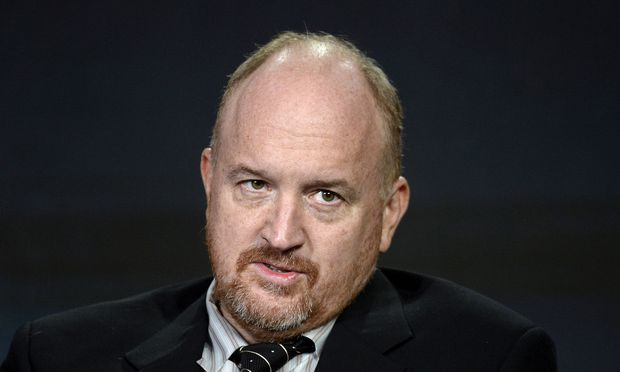 FILE PHOTO: Executive producer Louis C.K. participates in a panel for the FX Networks series ´Baskets´ during the TCA Cable Winter Press Tour in Pasadena