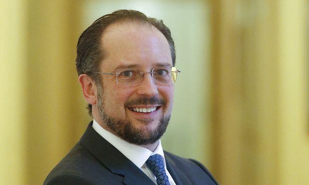 Außenminister: ALEXANDER SCHALLENBERG.