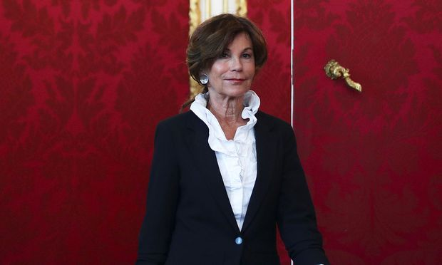 Erste Bundeskanzlerin: Brigitte Bierlein