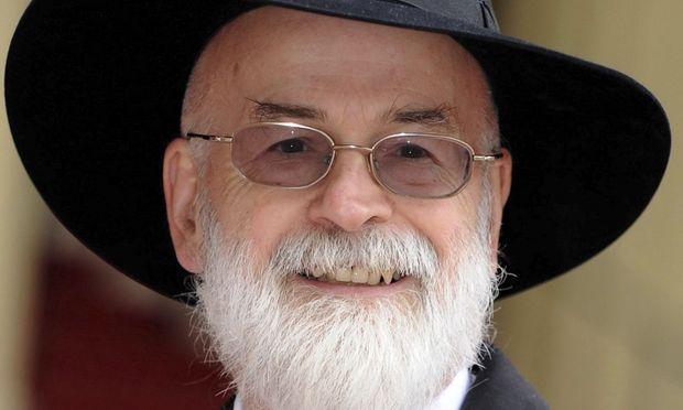 Fantasy-Autor Terry Pratchett.