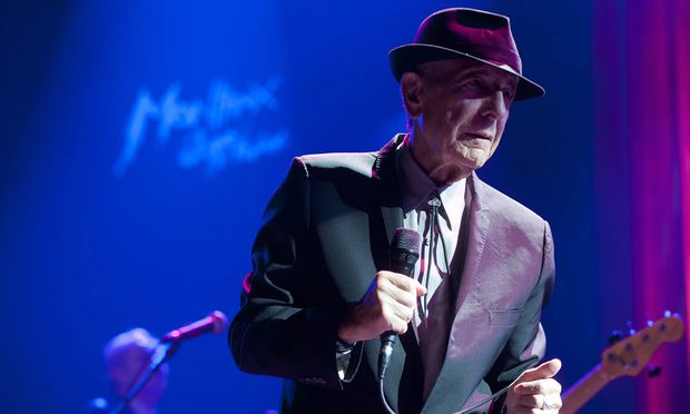 Stadthalle Leonard Cohens Reise