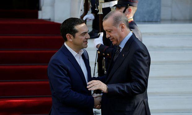 Die türkisch-griechischen Beziehungen haben sich seit der Amtszeit von Präsident Tsipras verbessert.