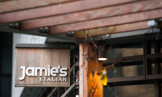 15 01 2018 London United Kingdom Jamie s Italian branches at risk Jamie Oliver restaurant at L