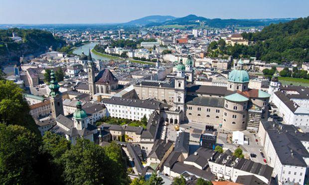 Salzburg Parkplatz