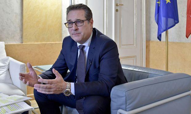Vizekanzler und FPÖ-Chef Heinz-Christian Strache