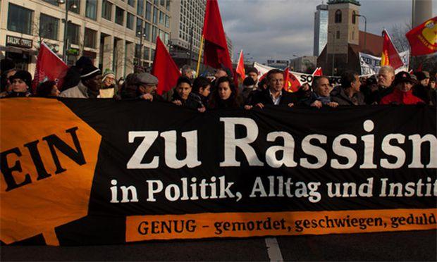 WKRBall Demo gegen Rechtsextremismus