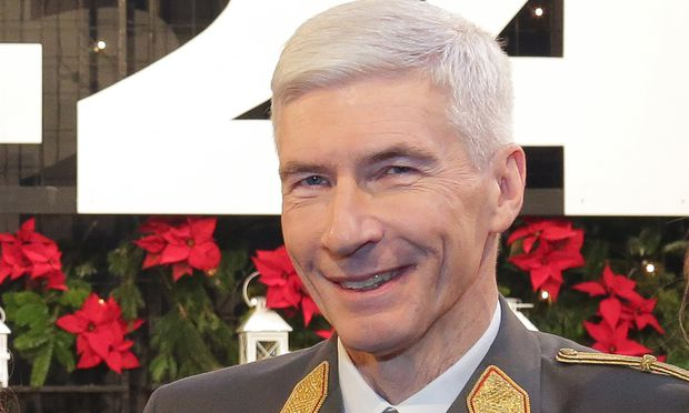 Generalstabschef Robert Brieger.
