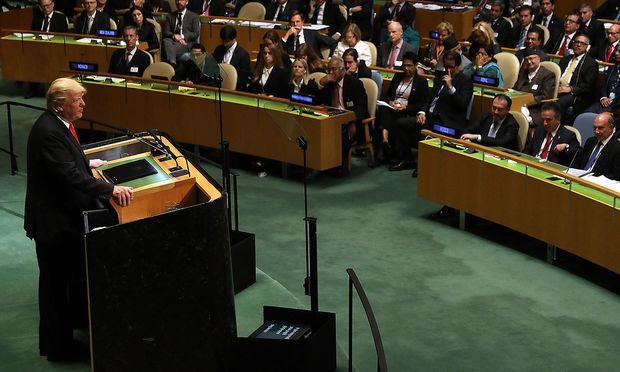 Trump will iranische Regierung weltweit isolieren — UN-Vollversammlung