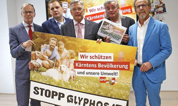 Die Kärntner SPÖ kämpft schon seit längerem für ein Glyphosat-Verbot.
