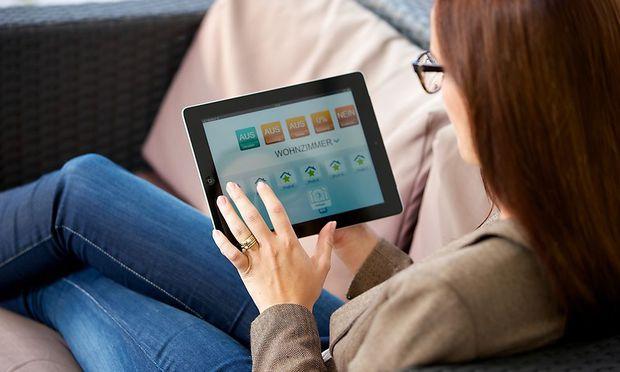 Heimsteuerung per Tablet