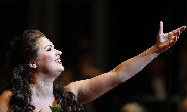 Anna Netrebko (Archivbild) wird im Grazer Musikverein zu Gast sein.