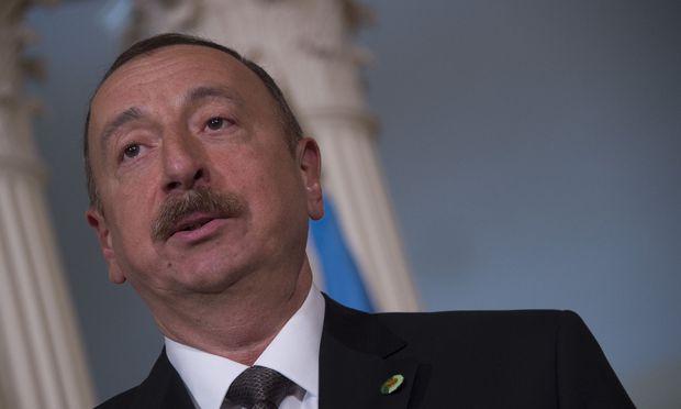 Aserbaidschans Präsident Alijew mit 86 Prozent wiedergewählt