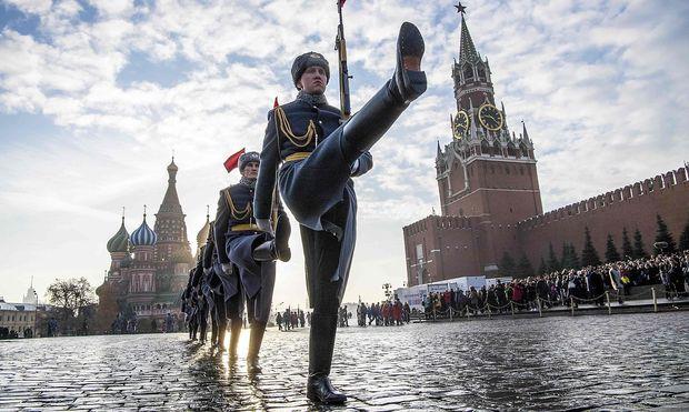 Russland reagiert etwas ungehalten angesichts der Vorwürfe aus Österreich.