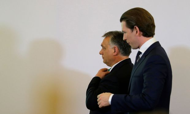 Orbán, Kurz