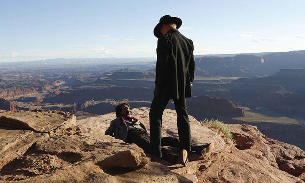 Ob die HBO-Serie ''Westworld'' auch mit doppelter Geschwindigkeit fesselt?