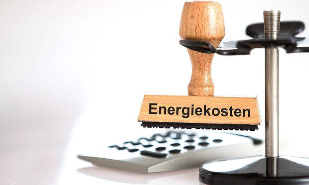 Steigende Energiekosten.