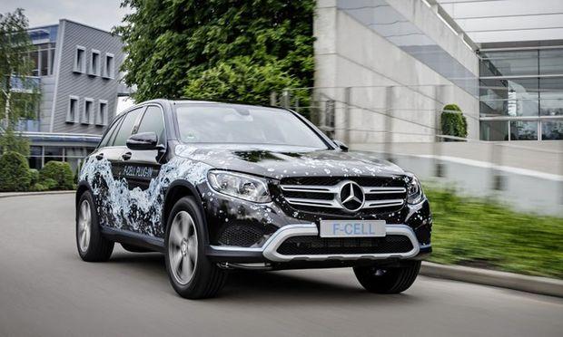 Mercedes GLC F-Cell kommt 2017 trotzdem in kleiner Stückzahl auf den Markt.
