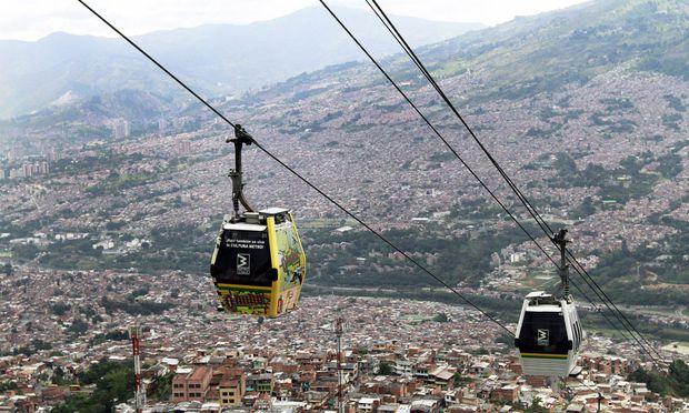 Medellín von oben