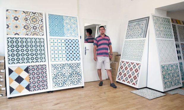 Fliesen Aus Marrakesch DiePressecom - Fliesen mit eigenem foto