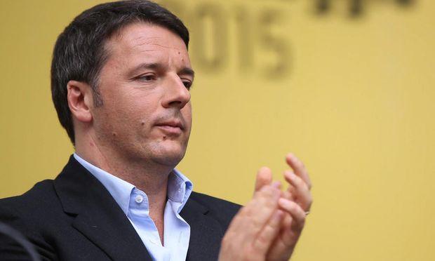 Matteo Renzi setzte sich im Parlament durch.