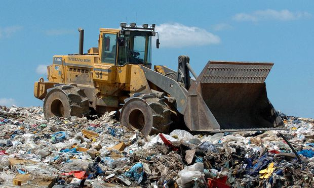 Urban Mining Stadt Materiallager
