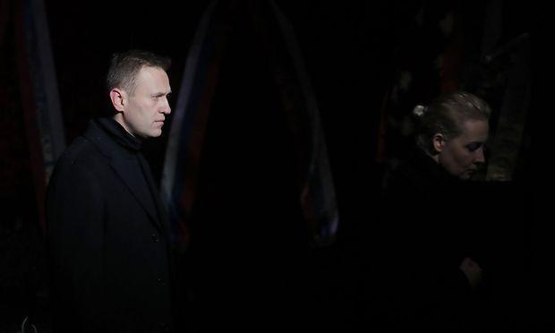 Alexej Nawalny kritisiert Österreichs Politik und Banken.
