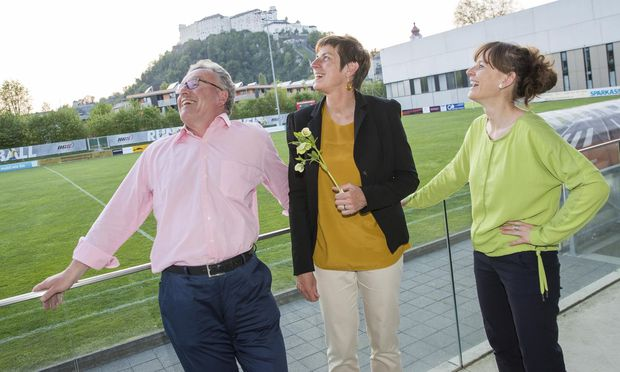 Heinrich Schellhorn, Astrid Rössler und Martina Bertholdb