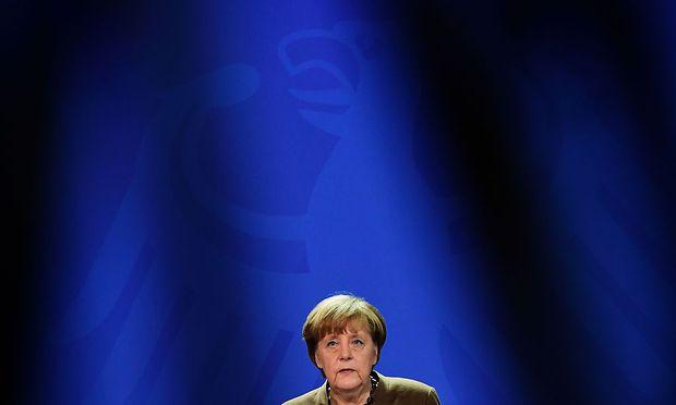 Merkel zeigt sich entschlossen.