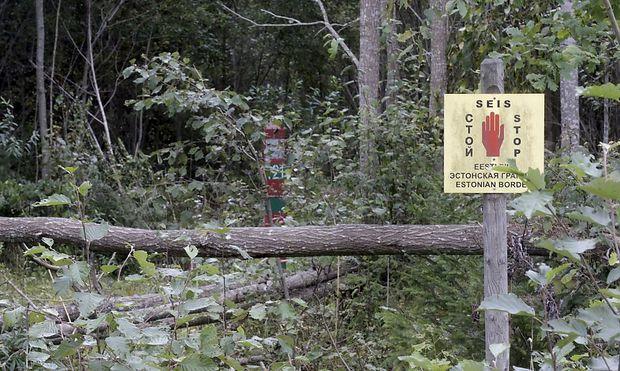 Der Beamte könnte über die estisch-russische Grenze verschleppt worden sein.