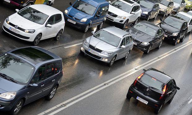 Die Zahl der Autos in Wien ist seit 2010 gesunken.
