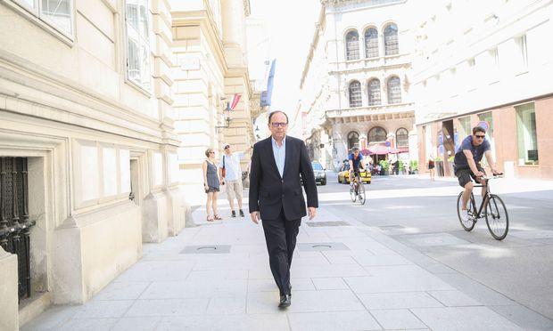 Wird in den kommenden fünf Jahren sowohl die Wiener als auch die Österreichische Ärztekammer anführen: Thomas Szekeres.  / Bild: (c) Stanislav Jenis