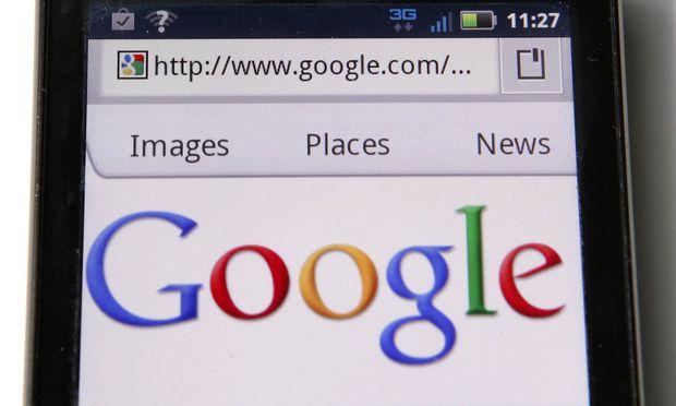 Symbolbild: Suchanfrage bei Google.
