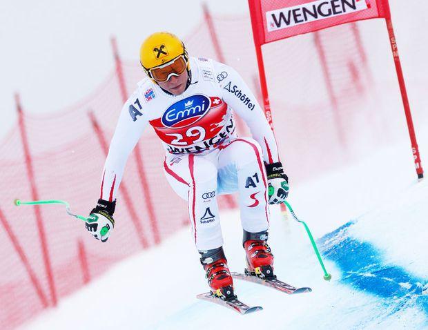 SKI ALPIN - FIS WC Wengen, Abfahrt, Herren, Training