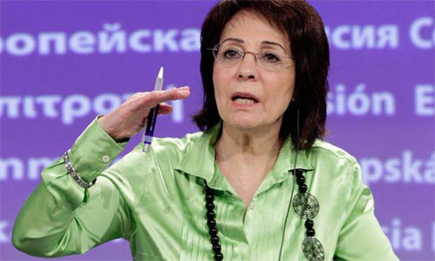 Griechenlands EUKommissarin Damanaki Sparen