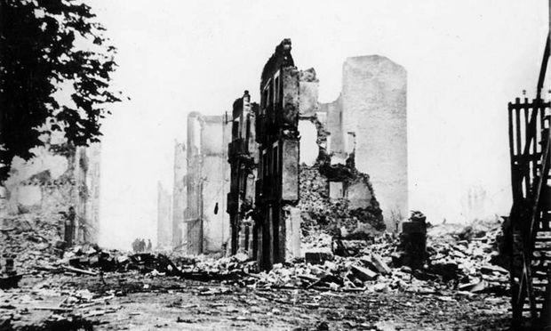 Die Ruinen von Guernica