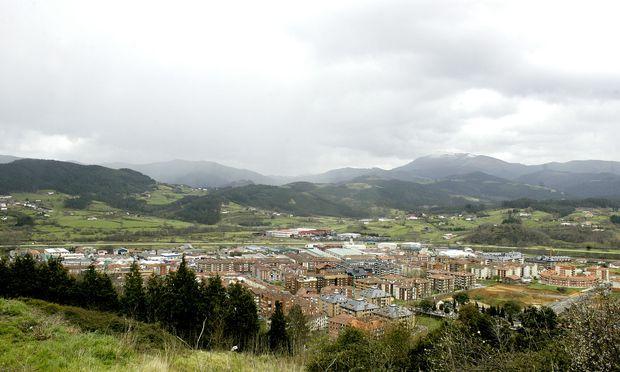 Die Stadt Guernica auf einer Aufnahme von 2007